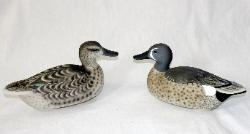 cork blue winged teal decoys